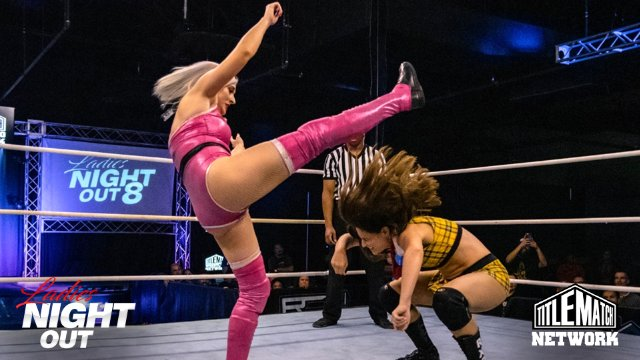 Ladies Night Out 8 - Heather Monroe vs Riley X Paris