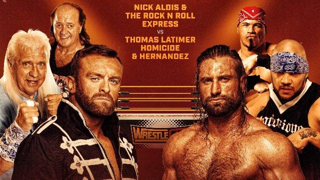 Wrestlecade Supershow 2019 - Nick Aldis & Rock n Roll Express vs Thomas Latimer, Homicide & Hernandez