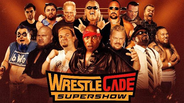 Wrestlecade Supershow 2019 - Top Rope Belts Battle Royal (Jax Dane, Aldo Montoya, Super Humman, Shane Douglas, 2 Cold Scorprio, Blue Meanie)