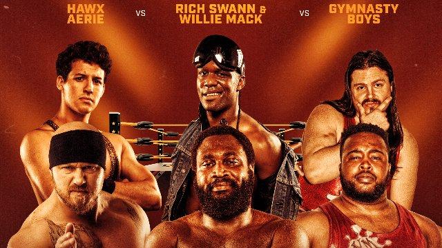 Wrestlecade Supershow 2019 - Rich Swann & Willie Mack vs Gymnasty Boys vs Hawx Aerie