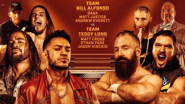 Wrestlecade Supershow 2019 - Team Teddy Long (Matt Cross, Ethan Page & Jason Kincaid) vs Team Bill Alfonso (Daga, Andrew Everett & Matt Justice)