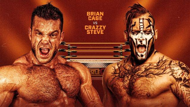 Wrestlecade Supershow 2019 - Brian Cage vs Crazzy Steve