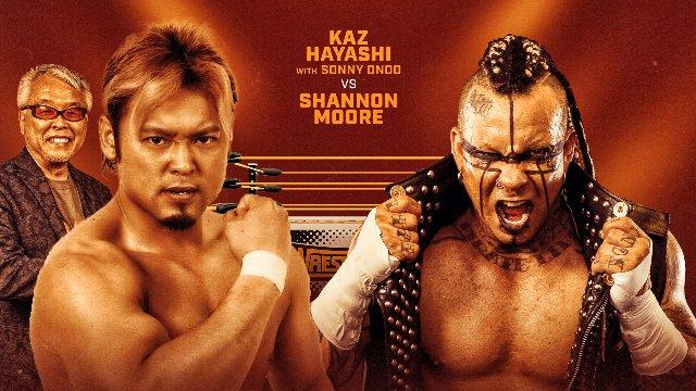 Wrestlecade Supershow 2019 - Shannon Moore vs Kaz Hayashi