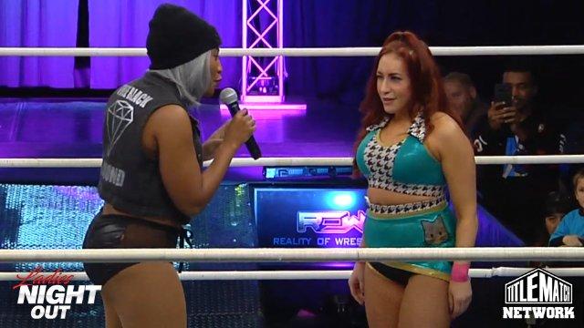 Ladies Night Out 8 - Veda Scott vs Ivory Robyn