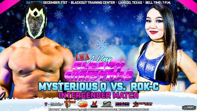 LWA: Rok-C vs Mysterious Q (Intergender Wrestling)