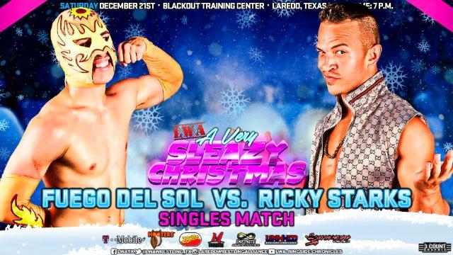 LWA: Ricky Starks vs Fuego Del Sol