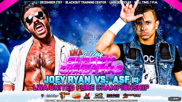 LWA: Joey Ryan vs ASF (c) (LWA United Pure Championship)