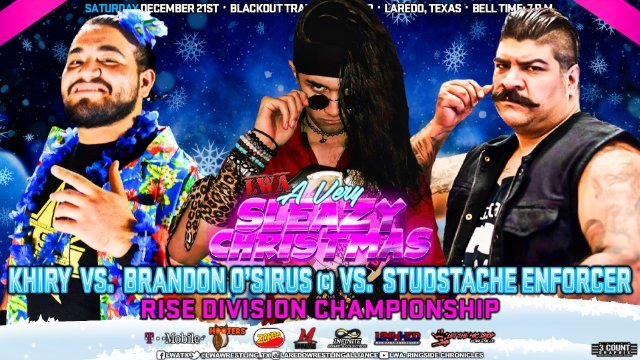 LWA: Studstache Enforcer vs Khiry vs Brandon O'Sirus
