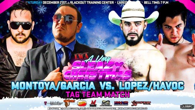 LWA: Martell Montoya & Killer Garcia vs Zane Havoc & Johnathan Lopez