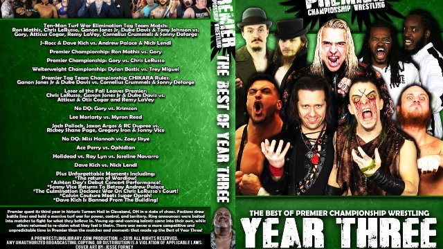 Best of Premier Wrestling - Year Three