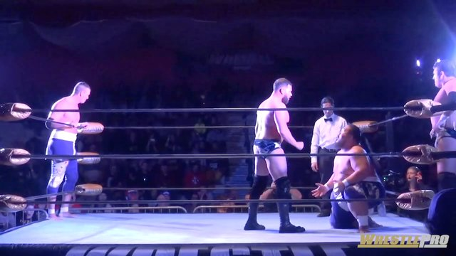 WrestlePro - Fallah Bahh & Kevin Matthews vs Heavenly Bodies