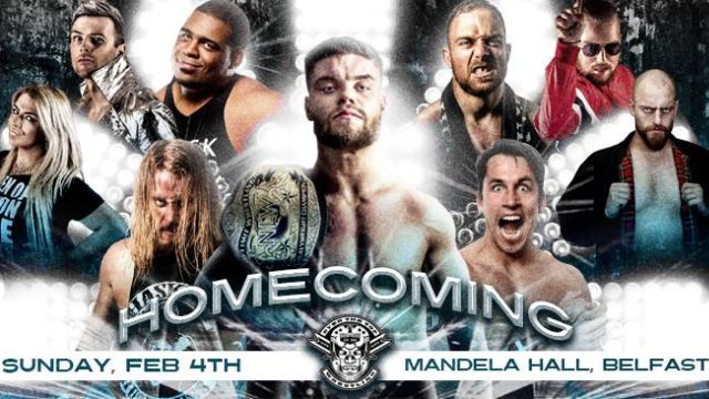"Over The Top Wrestling presents  ""Homecoming"" Belfast"