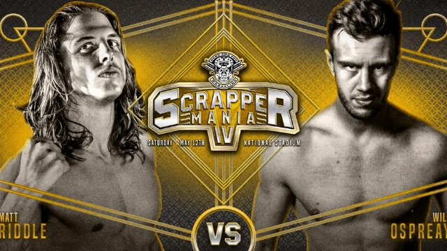 FREE MATCH Will Ospreay Vs Matt Riddle from ScrapperMania 4