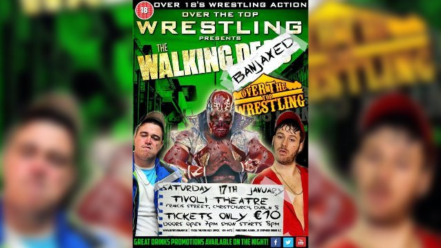 "Over The Top Wrestling Presents ""The Lost Hard Drive Matches: The Walking Banjaxed"""