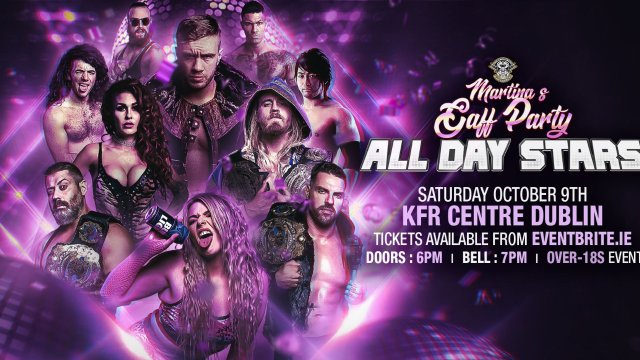 """Over The Top Wrestling Presents """"Martina's Gaff Party: All Day Stars"""""""