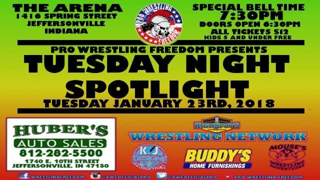 PWF TUESDAY NIGHT SPOTLIGHT