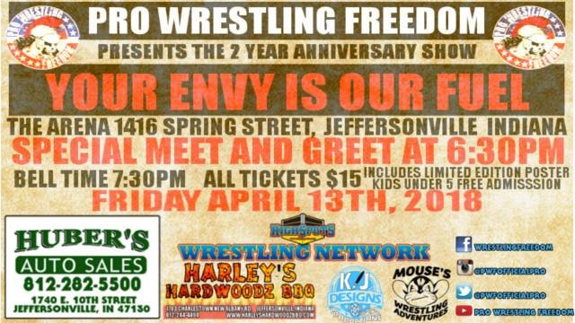 PWF Second Anniversary Show