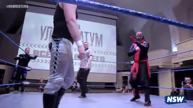 NSW Ultimatum 2017: Ronnie Crimson & Dmitry Orlov vs. LaPatka & Dmitry Donskoi (w/Gambit)