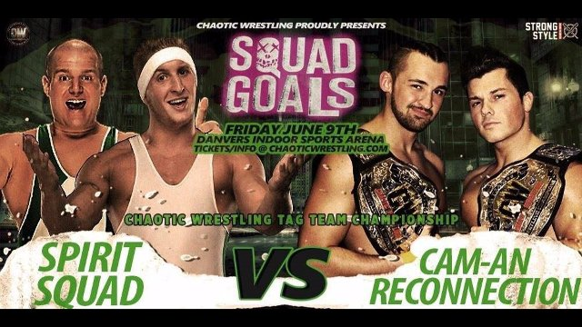Chaotic Wrestling - Cam An Connection vs The Squad - CW Tag Team Championship Match