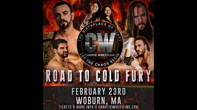 "Chaotic Wrestling - ""Road To Cold Fury 2018"" FULL EVENT 2.23.18"