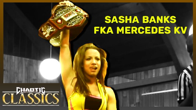 Sasha Banks (fka Mercedes KV) vs Alisha Edwards
