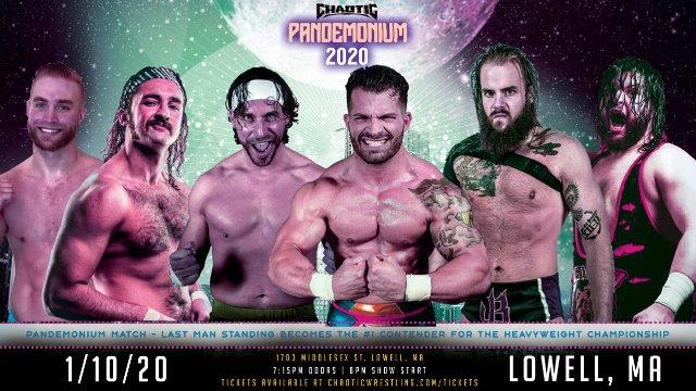 Chaotic Wrestling- PANDEMONIUM 2020