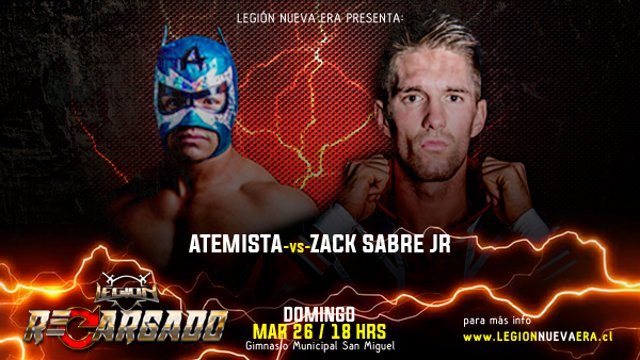 Atemista vs Zack Sabre Jr.