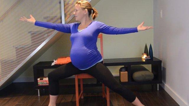 Prenatal Long Chair Practice