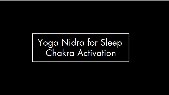 Yoga Nidra for Sleep