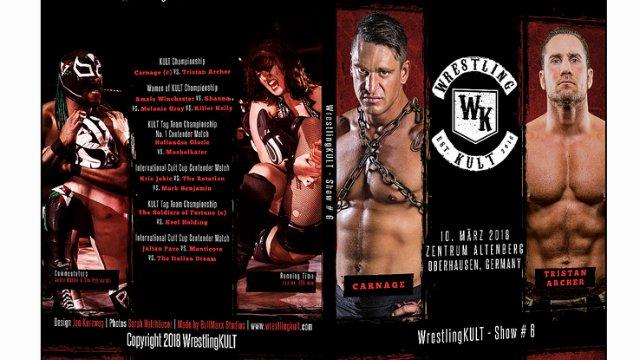 WrestlingKULT #6 March 10 2018 Oberhausen