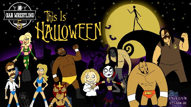 Bar Wrestling 5: This is Halloween