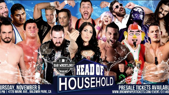 Bar Wrestling 6: Head of Household