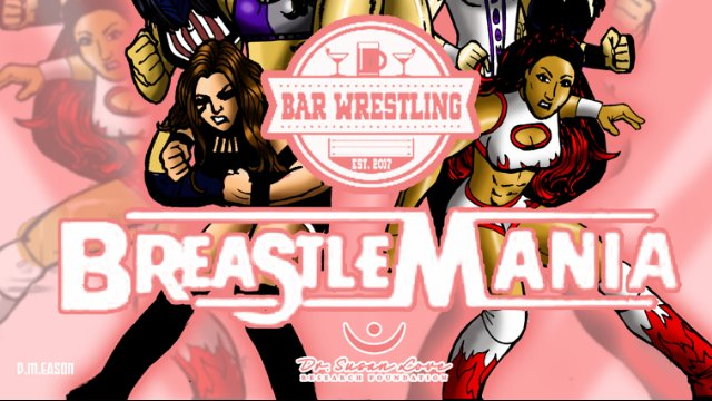 Bar Wrestling 21 BreastleMania