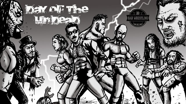 Bar Wrestling 22 Day of the Undead