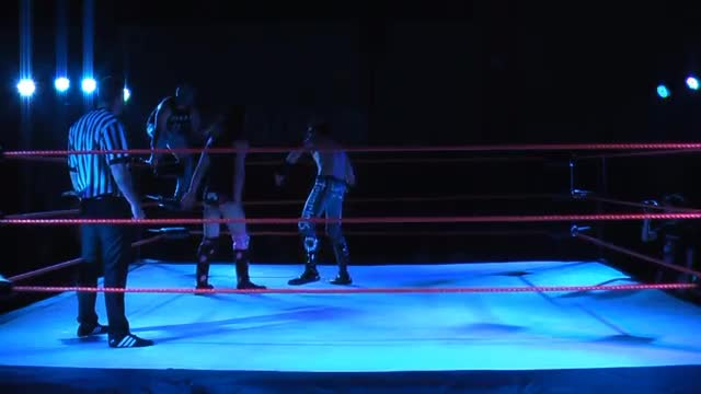 ICW High Voltage #8 (Tenacious Dalla vs Gargoyle vs Max Peach)