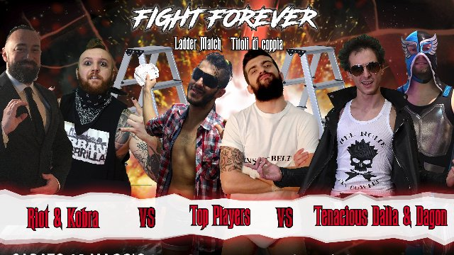 2019 - Episode 4 - ICW Il Numero 500 - Triple Threat Tag Team Ladder Match