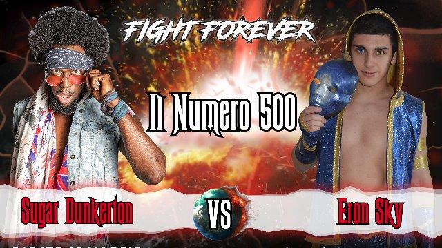 2019 - Episode 5 - ICW Il Numero 500 - Sugar Dunkerton vs Eron Sky
