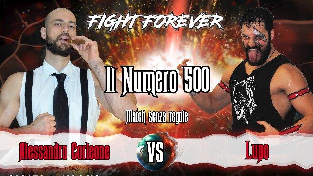 2019 - Episode 6 - ICW Il Numero 500 - Alessandro Corleone vs Lupo
