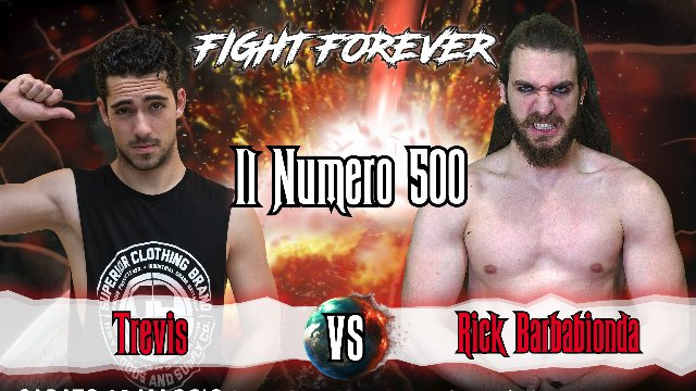 2019 - Episode 2 - ICW Il Numero 500  | Kick Off - Rick Barbabionda vs Trevis
