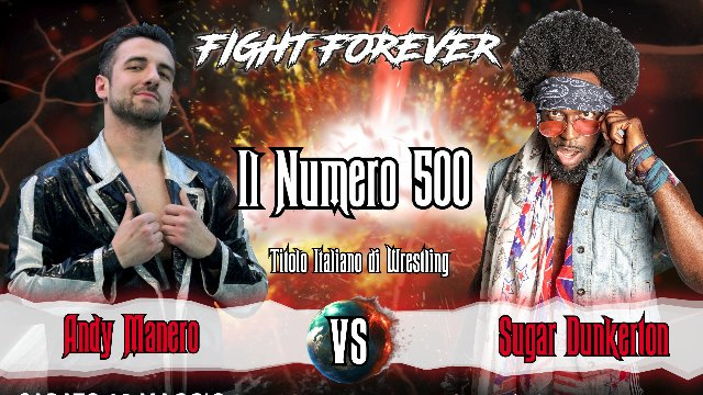 2019 - Episode 3 - ICW Il Numero 500 | Kick Off - Andy Manero vs Sugar Dunkerton