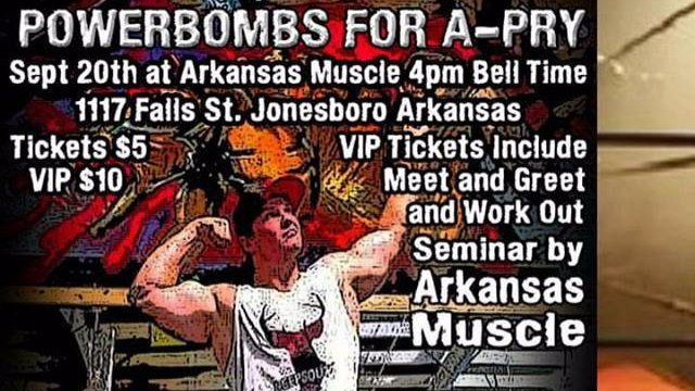 MACW Powerbombs For A-Pry Benefit At Arkansas Muscle (Jonesboro, Arkansas)