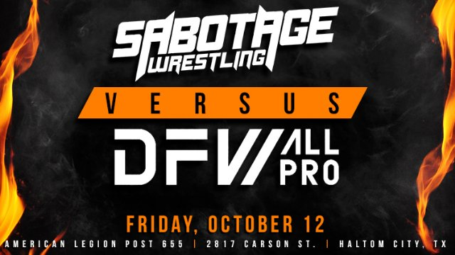 Sabotage Wrestling vs DFW All-Pro