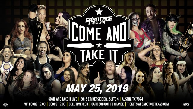 Sabotage Wrestling: Come and Take It
