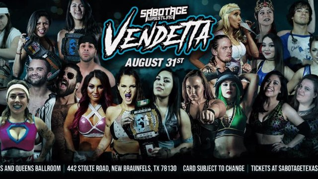 Sabotage Wrestling: Vendetta