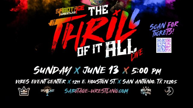 Sabotage Wrestling: The Thrill Of It All