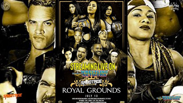 Sabotage Wrestling: Royal Grounds Live Cut