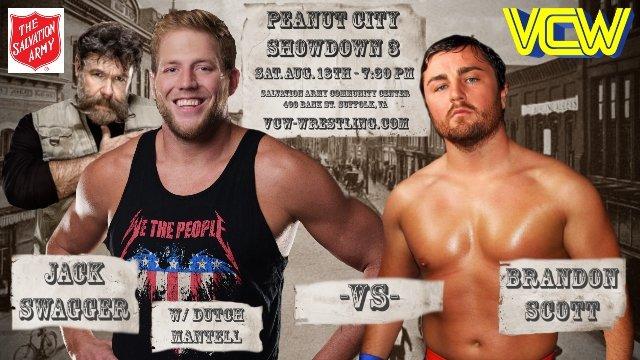 VCW - Jack Swagger (w/ Dutch Mantell) vs. Brandon Scott - 08.18.18