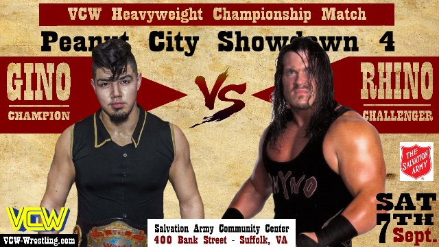 VCW - Peanut City Showdown 4 - 09.07.19