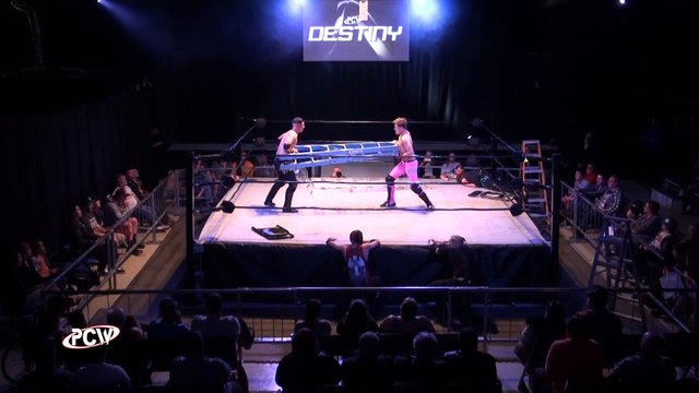 PCW Destiny Ladder Match 2016