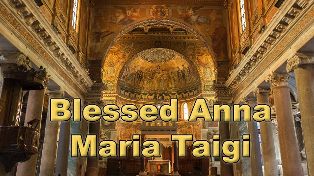 Blessed Anna Maria Taigi